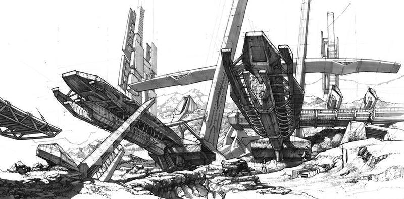 ilustracja science fiction