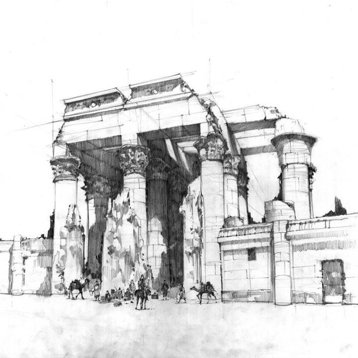 O rysunku architektonicznym