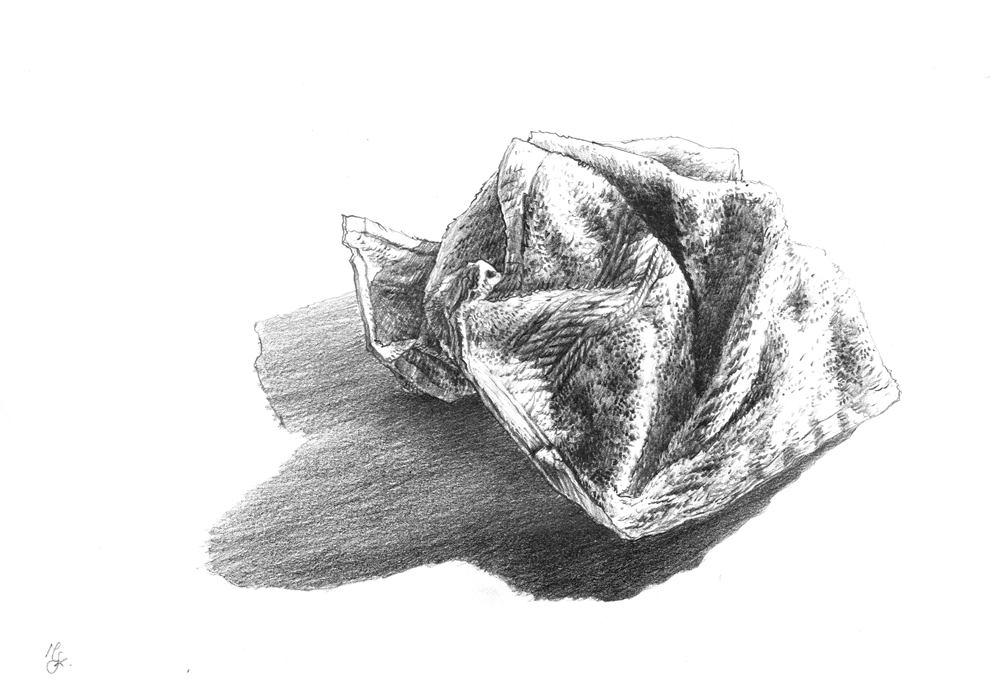martwa natura - faktura draperii